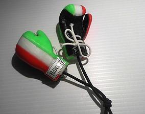 3D printable model boxer glove 4 parts