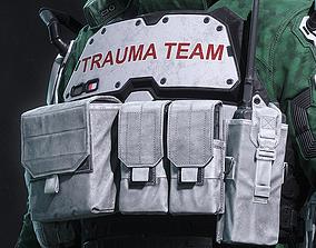 3D printable model Cyberpunk 2077 - Trauma Team - Chest