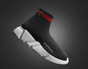 3D balenciaga trainers gucci shoes
