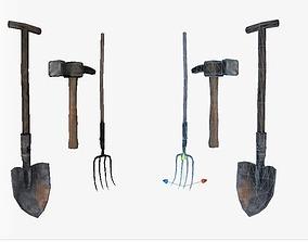 3D model HQ Barn Toolset Weapons