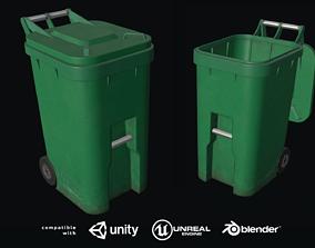 Plastic Trashbin 3D model