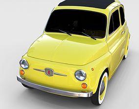 3D Fiat Nuova 500D 1960 rev