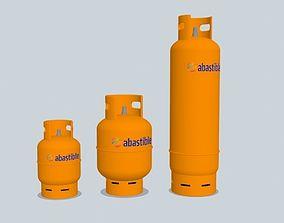 3D model Liquid Gas