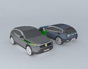 4x4 Car NEG E2 design 3D model