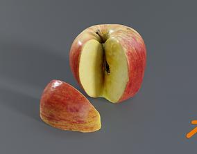 3D model Apple cut Photogrammetry
