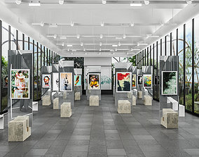realtime Art Gallery Contemporary 3D
