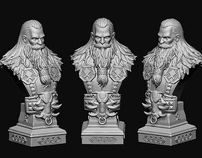 warrior 3D printable model medieval