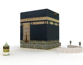 3D model The Kaaba Al-Musharrafah