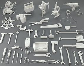 Tools - 40 pieces - collection-2 3D