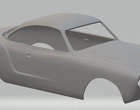 diy Volkswagen Karman Ghia Printable Body Car