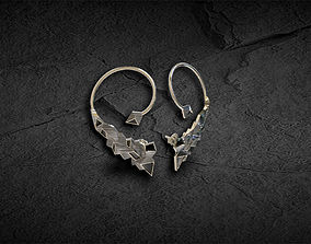 3D printable model Earring abstract Urban Ear Cuff