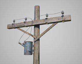 3D Power Pole