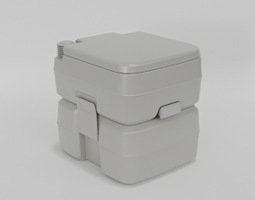 3D Portable toilette