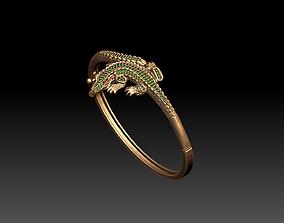 aligator bracelate 3D print model