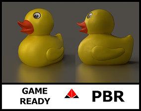 Rubber duck 3D asset
