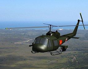 Bell-UH1 Viet Nam 3D model