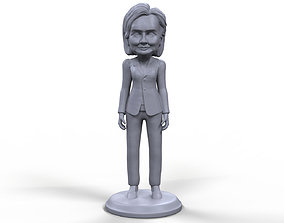 Hillary Clinton stylized high quality 3D printable