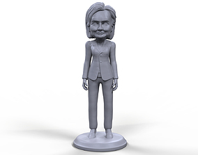 Hillary Clinton stylized high quality 3D printable