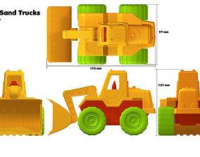 Mini Sand Truck 3D