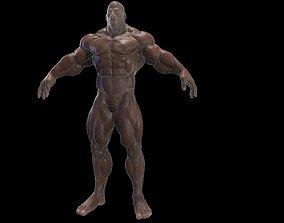 3D model BodyBuilder Game Ready Base Mesh