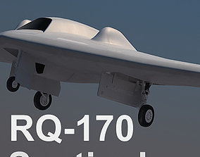3D US Air Force RQ-170 Sentinel UAV Beast of Kandahar