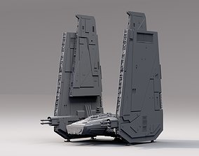 star wars command shuttle 3D model