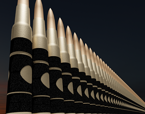 Bullets 3D ammo weaponry