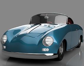 Porsche 356 Speedster 3D printable model