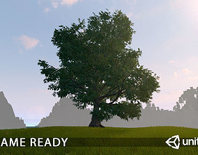 Old Oak for unity 3D asset animated