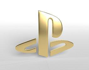 Playstation Logo v1 005 3D asset