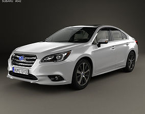 Subaru Legacy with HQ interior 2014 3D