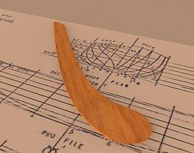 3D model Copenhagen ship curves