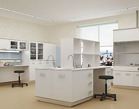 3D asset Chemical and research laboratories