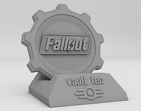 Phone holder Fallout 3D printable model