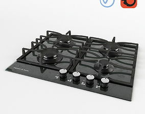3D model Zigmund and Shtain Gas Hob