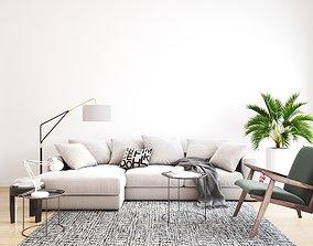 3D model living room 2