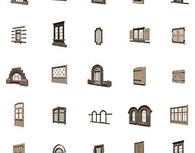 Windows Collection 3D asset