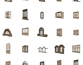 Windows Collection 3D asset