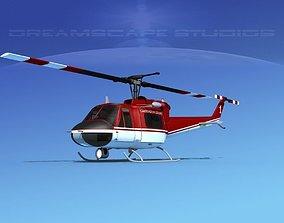 3D Bell 204 Carington Logging