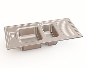 3D model Kitchen sink 21