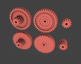 Gears sprocket 3D print model