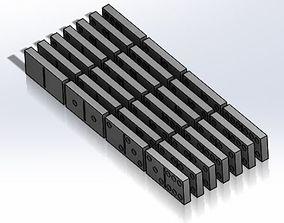 Dominoes 3D printable model