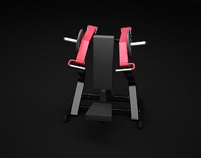 3D model Shoulder Press