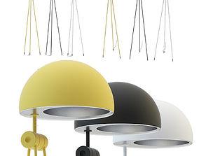 3D model Lightyears Radon nigra Floor lamp