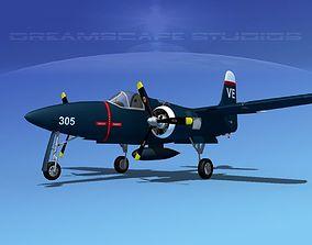 Grumman F7F Tigercat V04 3D