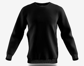 3D model sweatshirt male