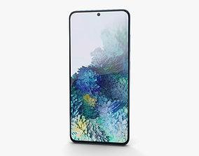 Samsung Galaxy S20 Cloud Blue 3D model