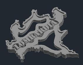 Regione Lombardia 3D printable model