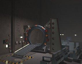 Stargate SG-1 Gateroom 3D