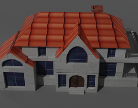 game-ready Home 3D Model